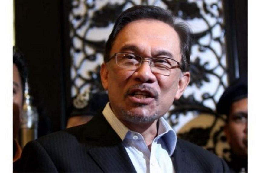 Datuk Seri Anwar Ibrahim (above) is believed to have met with Datuk Seri Azmin Ali to discuss the candidate list.
