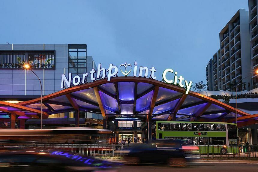 Frasers Centrepoint Trust's Northpoint City mall located at 930 Yishun Ave 2.