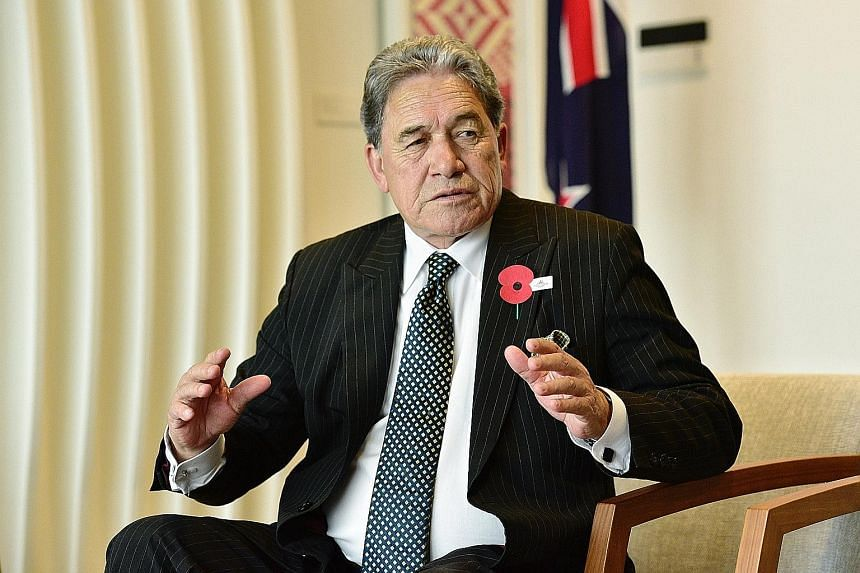 New Zealand Deputy Prime Minister Winston Peters said in an interview during his two-day visit here that his country wants to reduce net migration by 20,000 to 30,000 a year. Last year, net migration reached a record high of 72,000, driven by people