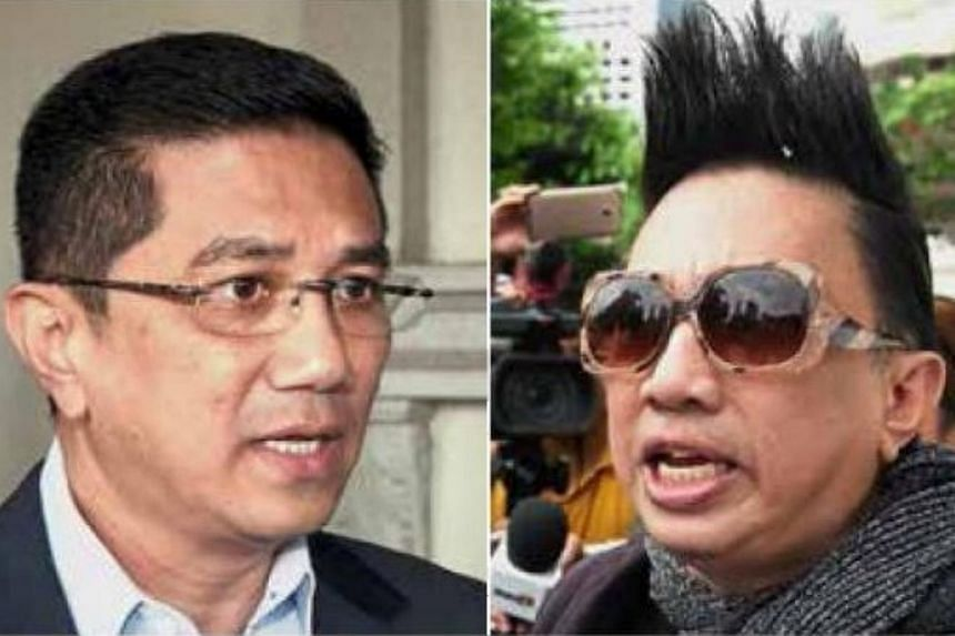 Malaysian celebrity Azwan (right) says he will stand as an independent in the Bukit Antarabangsa state seat, where his brother Datuk Seri Azmin is the incumbent.