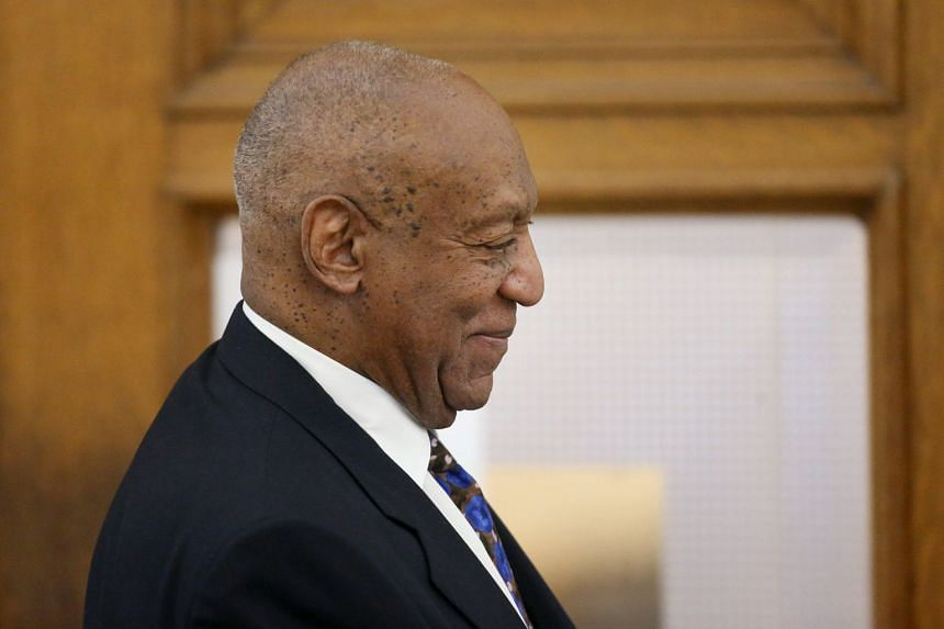 Actor and comedian, Bill Cosby, leaving court during his sexual assault retrial case, on April 24, 2018.