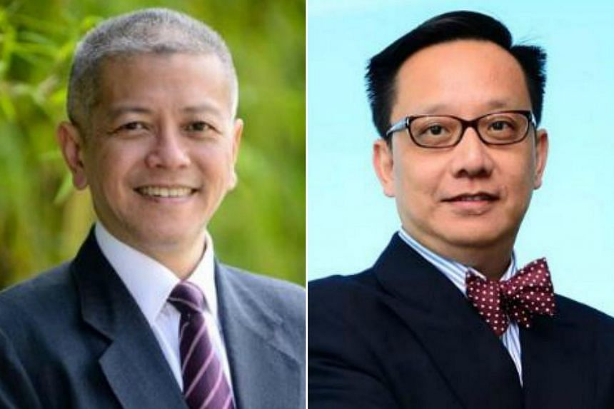 Professor Danny Quah (left) will helm the Lee Kuan Yew School of Public Policy while Associate Professor Chong Yap Seng will be appointed the 17th dean of the Yong Loo Lin School of Medicine.