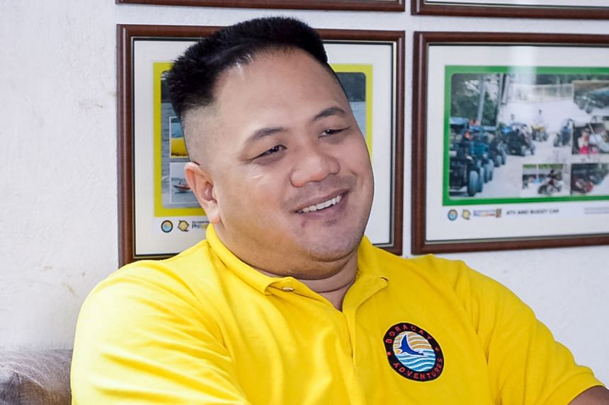 Singaporean Justin Kon, who owns two laundromats in Boracay, plans to stay open, even though most of his customers - the island's workers - are leaving. Mr Peter Tay, a Singaporean who owns a travel agency in Boracay, is planning tour packages for tr