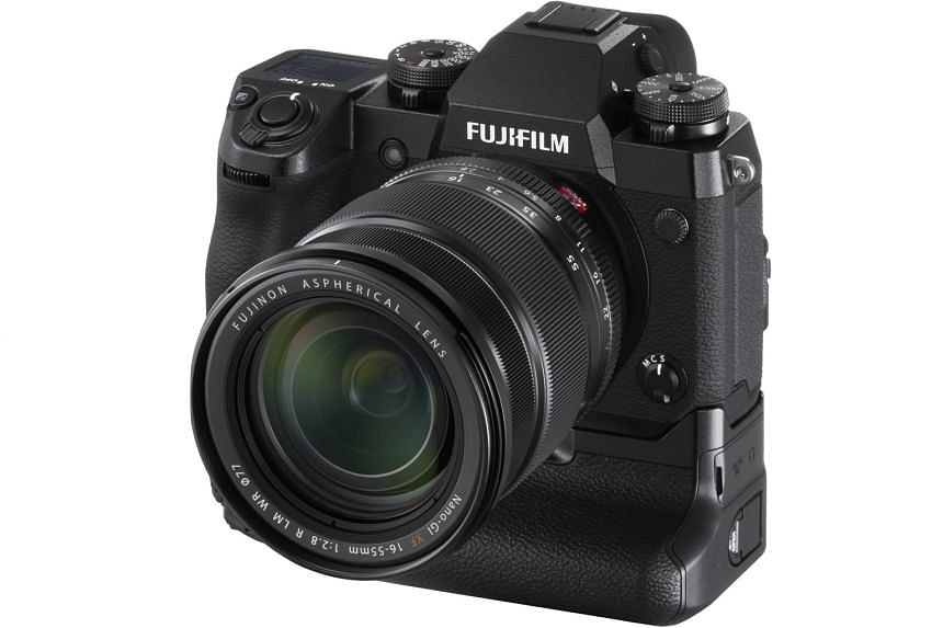 The Fujifilm X-H1 camera is targeted at professional photographers and videographers.
