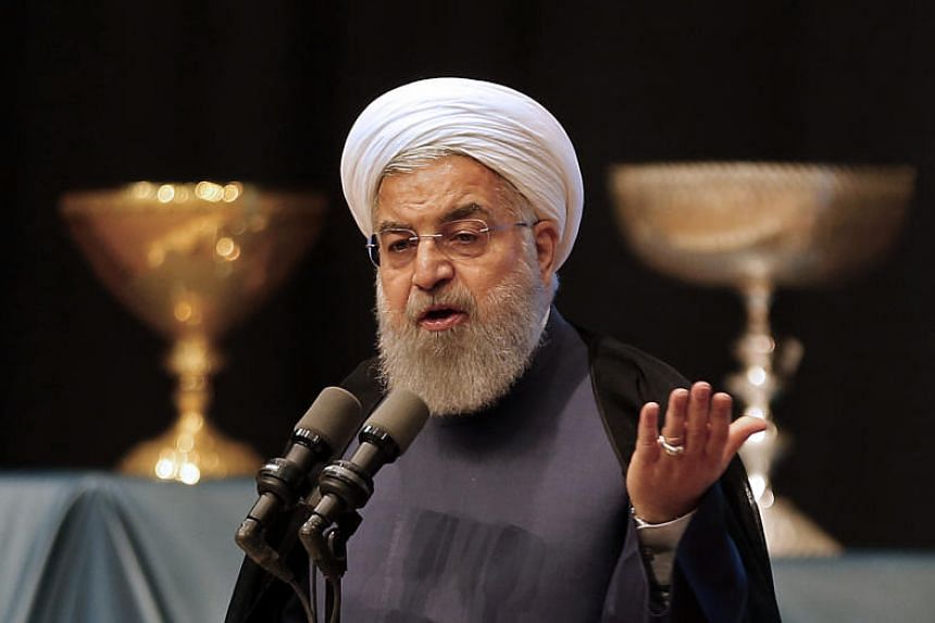 Iranian President Hassan Rouhani said US President Donald Trump lacked the qualifications to deal with a complex international pact.