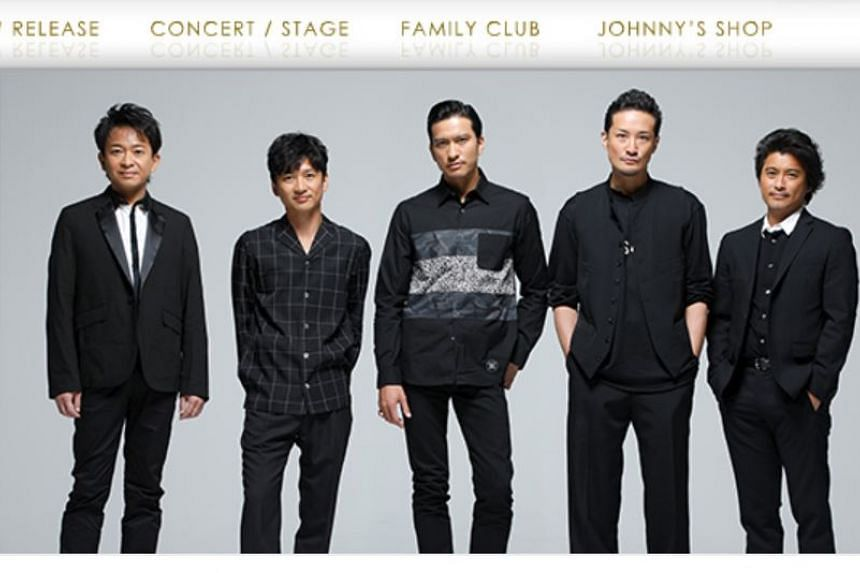 Member of popular Japanese boy band Tokio Tatsuya Yamaguchi (far right) is accused of asking the high school girl to come to his apartment in Tokyo in February and forcibly kissing her.
