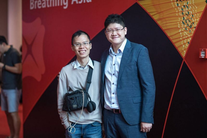 """Mr Kyith Ng (left) started a blog, faithfully documenting his investment journey over 13 years. His entries included topics such as: """"How Does the Perfect REIT Look Like in the Eyes Of Experienced Investors"""", """"The Wealthy Formula – How You Ca"""