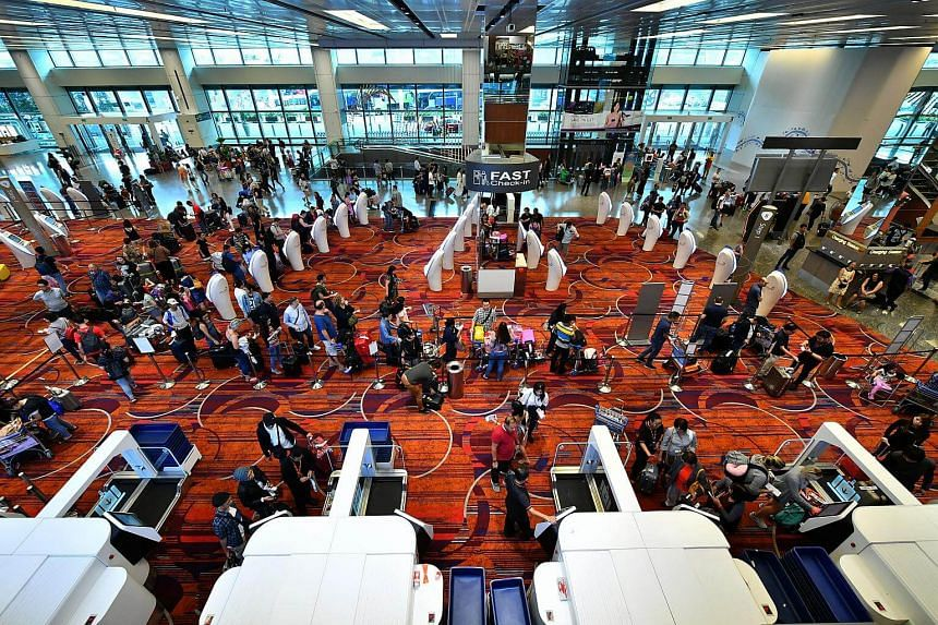 Changi Airport's strong growth in traffic numbers was on the back of good demand for flights across all regions.