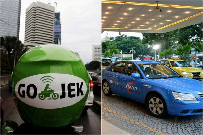 The Straits Times understands that representatives from Go-Jek and ComfortDelGro have held preliminary discussions.