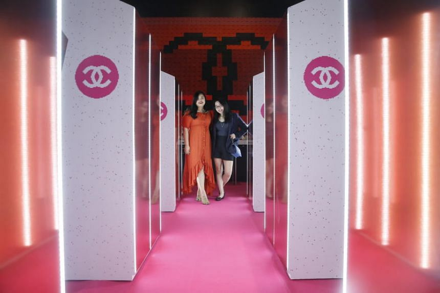The Coco Game Centre is inspired by the arcade halls of Japan and aims to re-imagine beauty and turn it into a game.