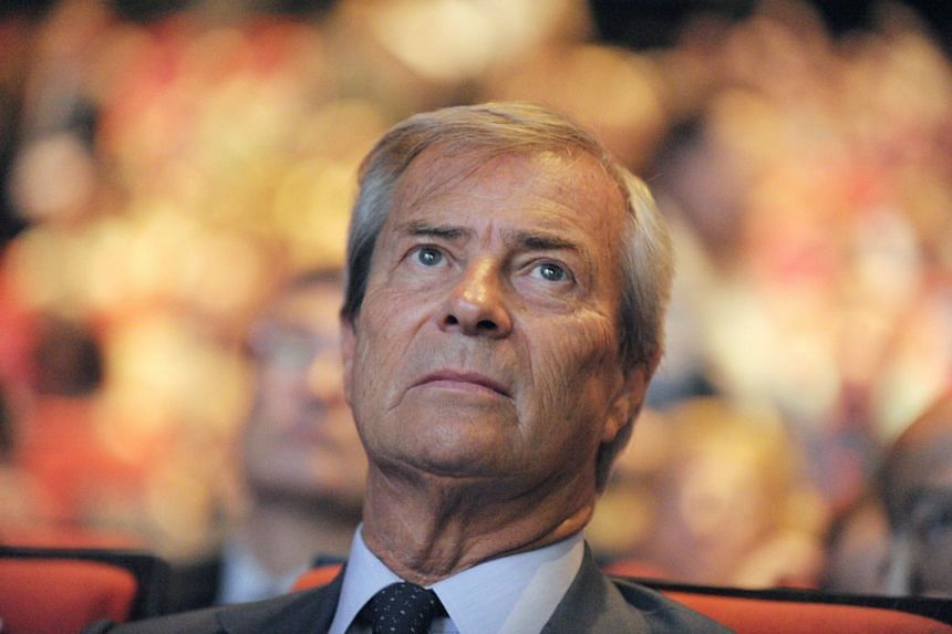 Bollore (above, in 2014) was questioned for two days by French fraud police.