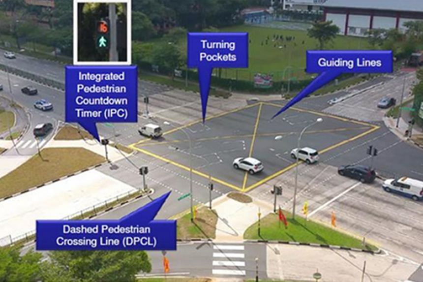 The Land Transport Authority will install red-amber-green arrows at as many of Singapore's 1,600 right-turn junctions as possible.
