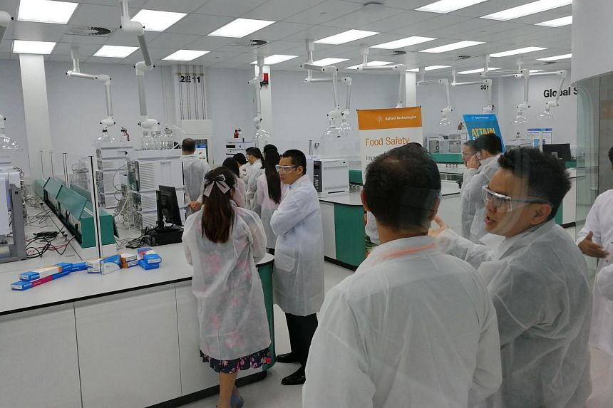 A tour of the new global solution development centre, which will come up with efficient laboratory workflows for Agilent's customers.
