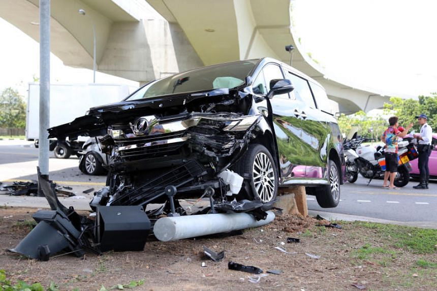 Police were alerted to the accident at 12.06pm on April 25, 2018.