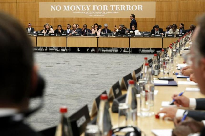 A two-day conference on combating the financing of terror groups brought together around 80 ministers and 500 experts.