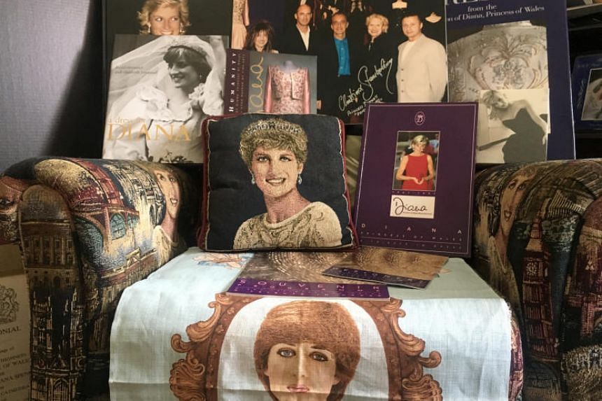 Mr John Hoatson's passion for all things Princess Diana began when he was eight and shows no signs of fading at the age of 45.