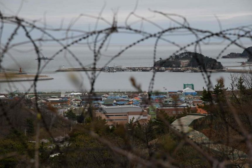 Yeonpyeong island's 2,200 residents live just 1.5km from a disputed maritime border with the North.