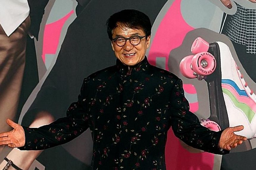 (Clockwise from far left) Hong Kong actor Jackie Chan, Taiwan-based singer Wakin Chau and Taiwanese music producer and singer-songwriter Jonathan Lee will sing some of their most well-known songs on the charity television programme.