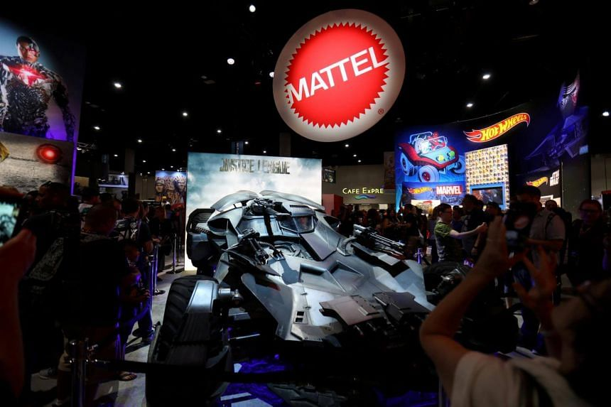 Mattel Inc's shares rose nearly 4 percent to US$14.49 in after-market trading.