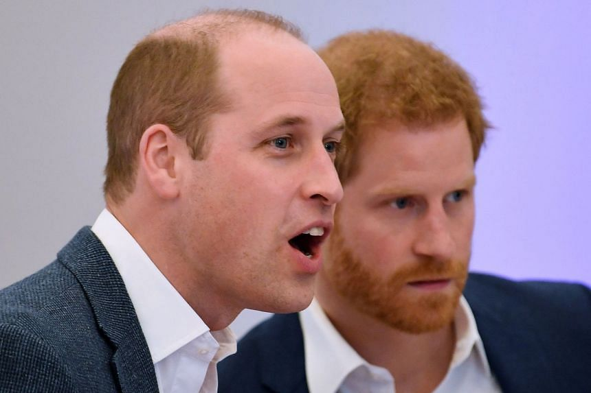 Prince William (left) will be best man at his brother Harry's (right) wedding to US actress Meghan Markle.