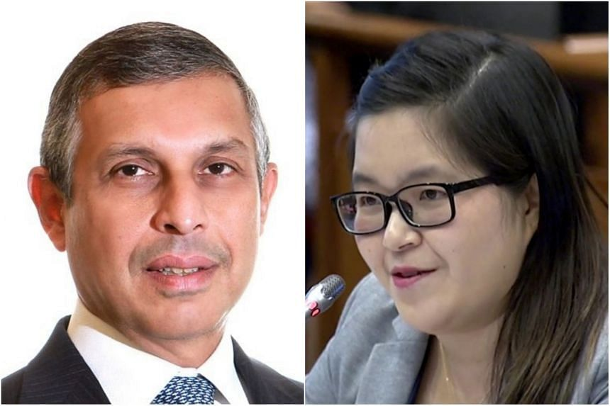 """Singapore's ambassador to the United States Ashok Kumar Mirpuri (left) has rejected claims by Singaporean activist Kirsten Han in her article titled """"What Trump is Learning from Singapore - and Vice Versa""""."""