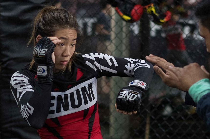 Angela Lee will fight Japan's Mei Yamaguchi at ONE: Unstoppable Dreams at the Singapore Indoor Stadium on May 18, 2018.