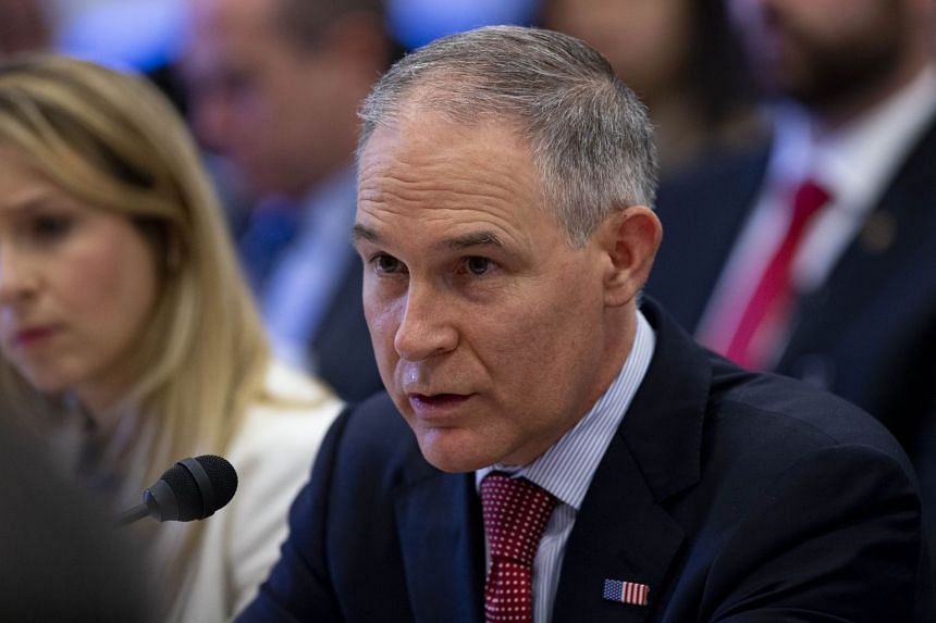 US Environmental Protection Agency chief Scott Pruitt put much of the blame for any agency missteps on his staff.