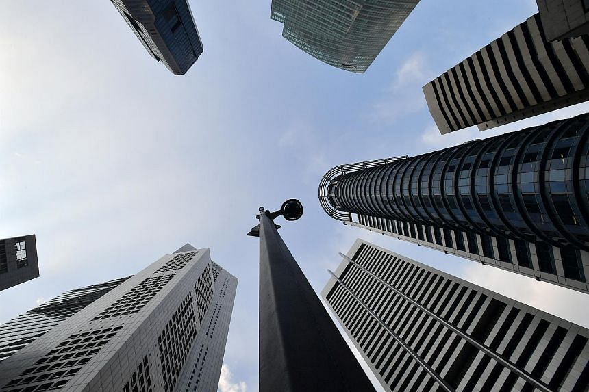 The islandwide vacancy rate of office space at the end of the first quarter of this year dipped to 12.5 per cent.