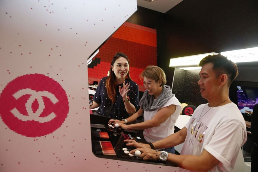 Gaming machines can be found at the Coco Game Centre pop-up at The Luxe Art Museum in Handy Road.