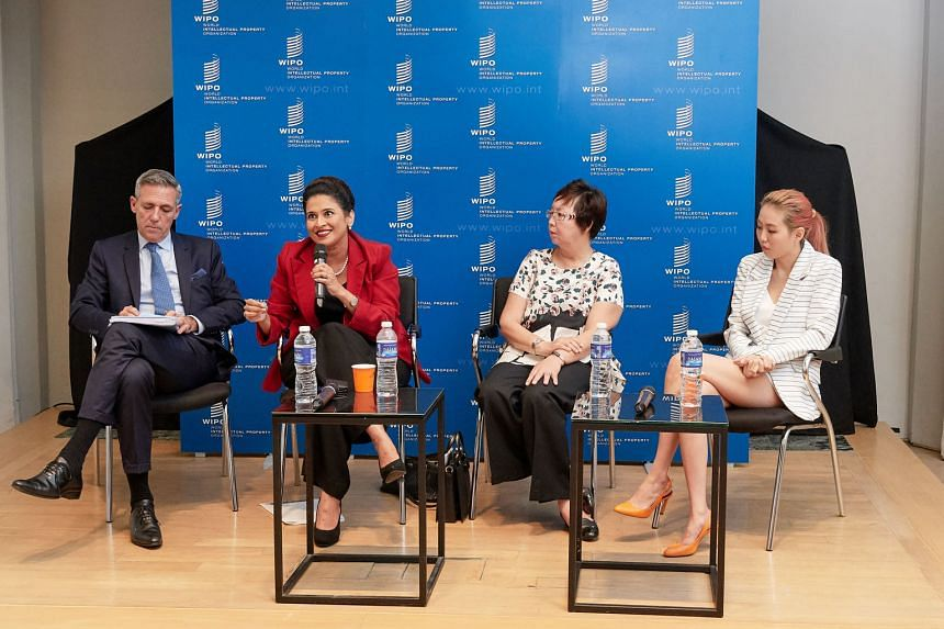 A panel discussion yesterday on the contribution of women to innovation and creative industriesfeatured (from left) Wipo Singapore office director Denis Croze, president of PrimeTime Business and the Professional Women's Association Lavinia Thanapath