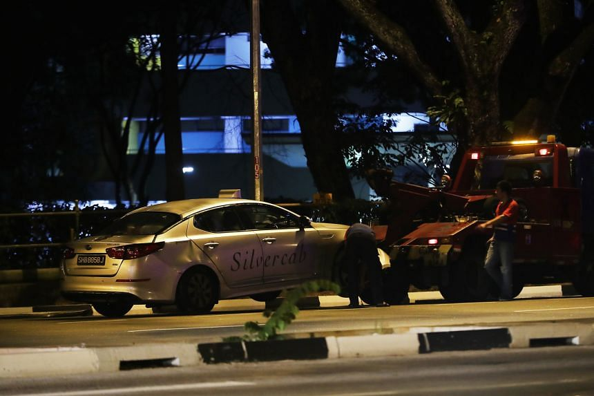 A teenager died in a collision at the junction of Commonwealth Avenue West and Clementi Road (above), and a woman died in a collision at the junction of Jalan Anak Bukit and Jalan Jurong Kechil.