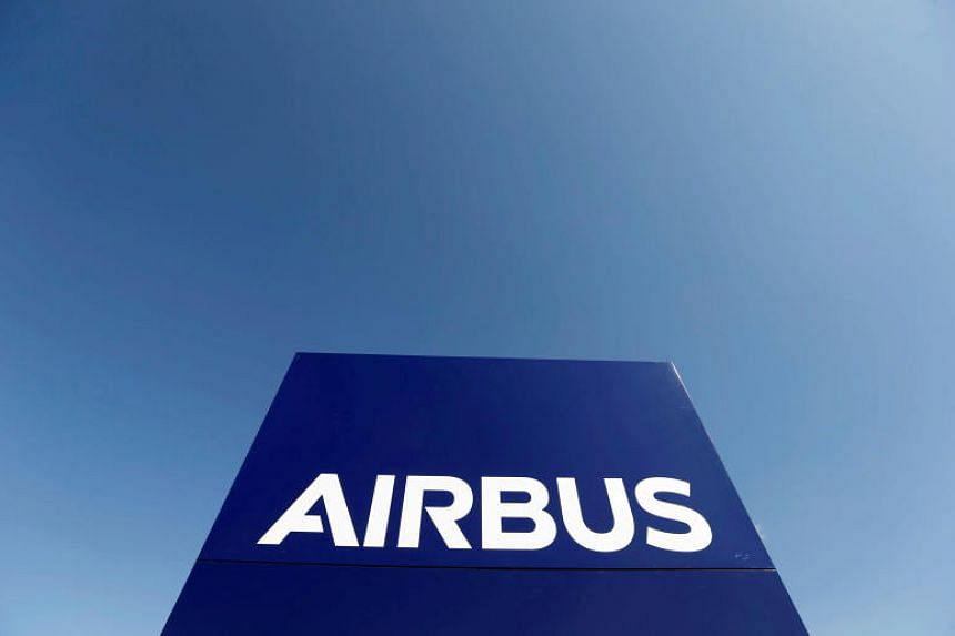 Airbus reported an adjusted quarterly operating profit of 14 million euros (S$22.6 million), compared with a restated year-earlier loss of 19 million.
