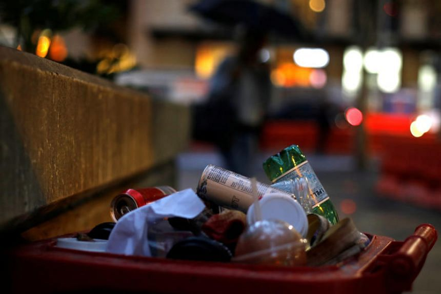 The Chinese ban from March 1 affects 1.25 million tonnes of Australian waste, worth an estimated A$850 million (S$853 million).