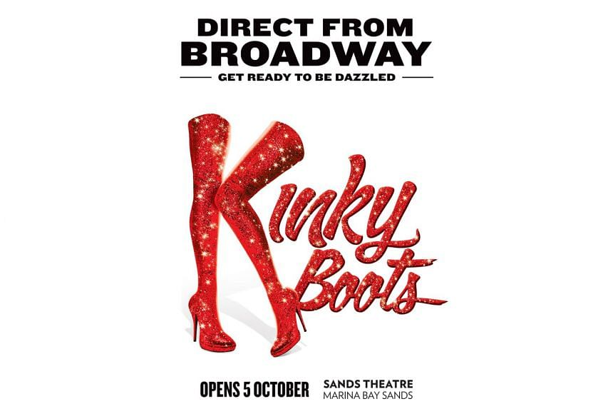 Based on a 2005 movie of the same name, Kinky Boots is the story of a father-son team whose struggling shoe business gets a leg up making stilettoes for drag queens.