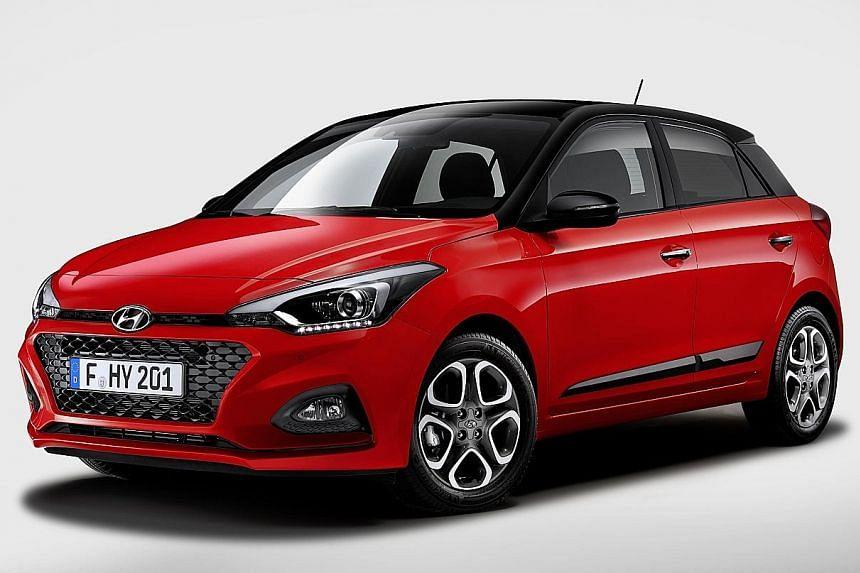 Hyundai's new i20 five-door