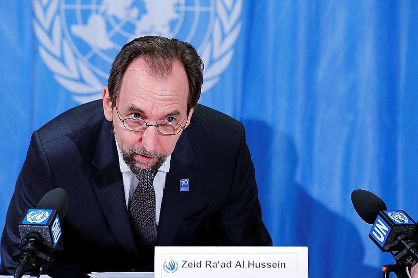 """UN High Commissioner for Human Rights Zeid Ra'ad Al Hussein described the number of injuries caused by live ammunition as """"staggering""""."""