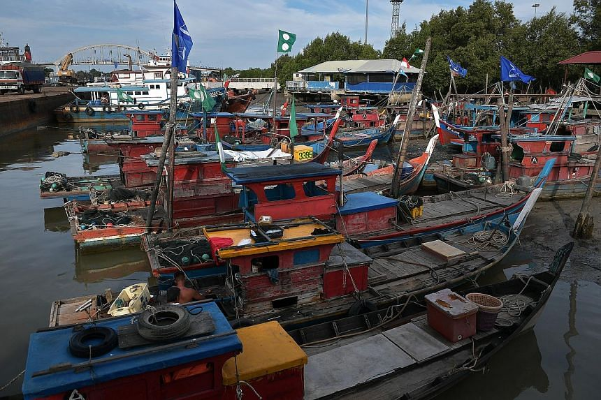 Malaysians go to polls on May 9, and boat owners in Penang have nailed their colours to the mast. Polls by two opposition-linked think-tanks point to a narrower win for BN this time.