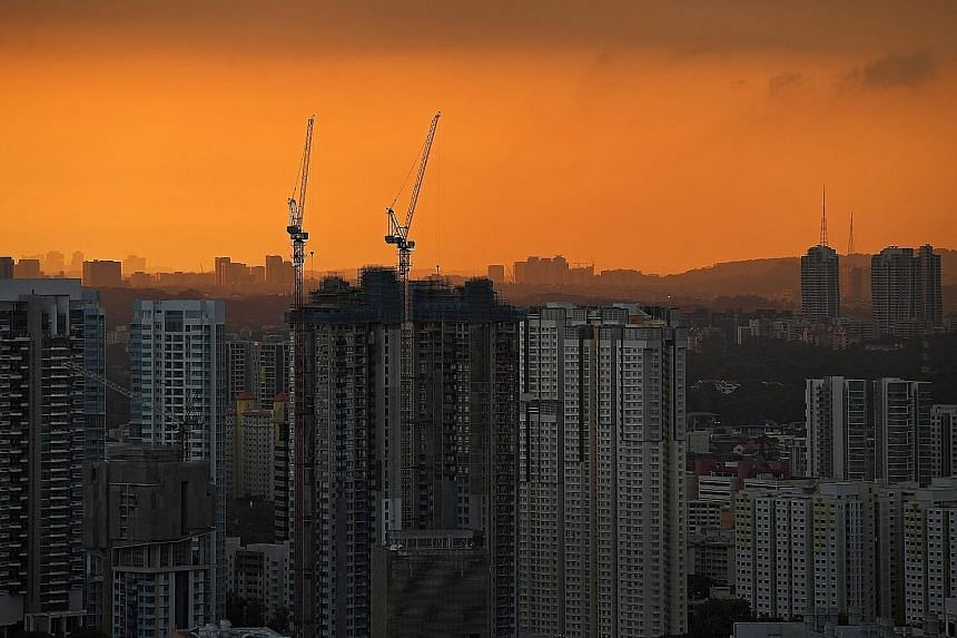 There were 4,458 HDB resale transactions in the January-March quarter, down from 5,738 in the fourth quarter of last year. The slide in the resale volume was accompanied by a 0.8 per cent dip in resale prices - the sixth consecutive quarter of declin