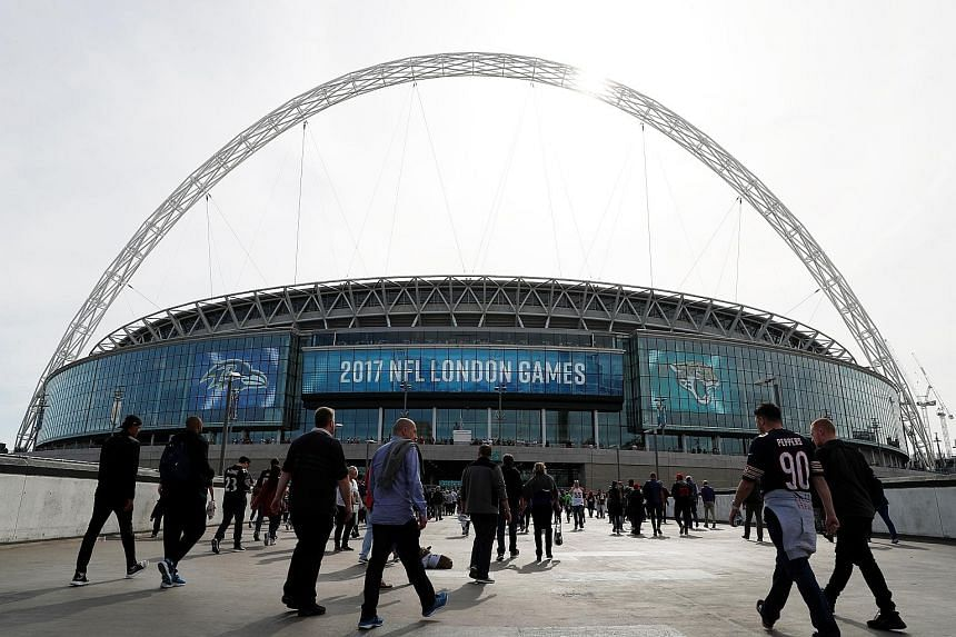 Wembley Stadium hosted two of the four NFL International Series games in London last autumn.