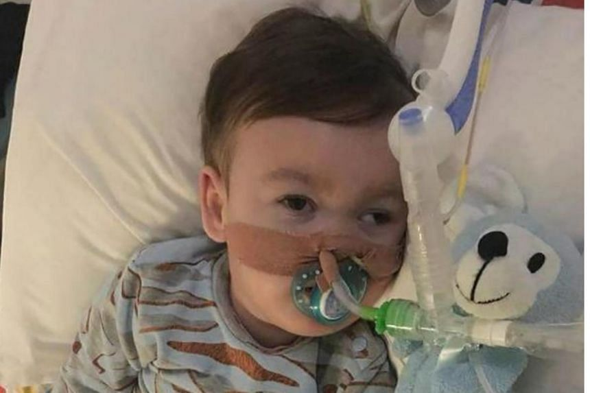 Alfie Evans had a rare, degenerative disease and had been in a semi-vegetative state for more than a year.