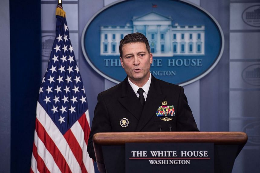"White House physician Ronny Jackson was accused of drinking on the job, improperly prescribing and dispensing medications, and creating a ""toxic"" work environment."