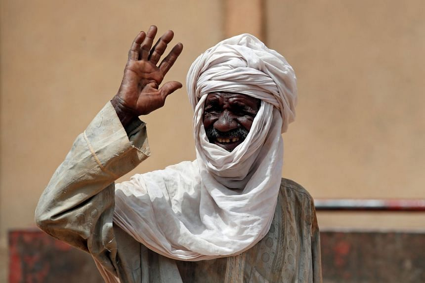 A Tuareg man on a street in Gao, Mali, in October 2017.