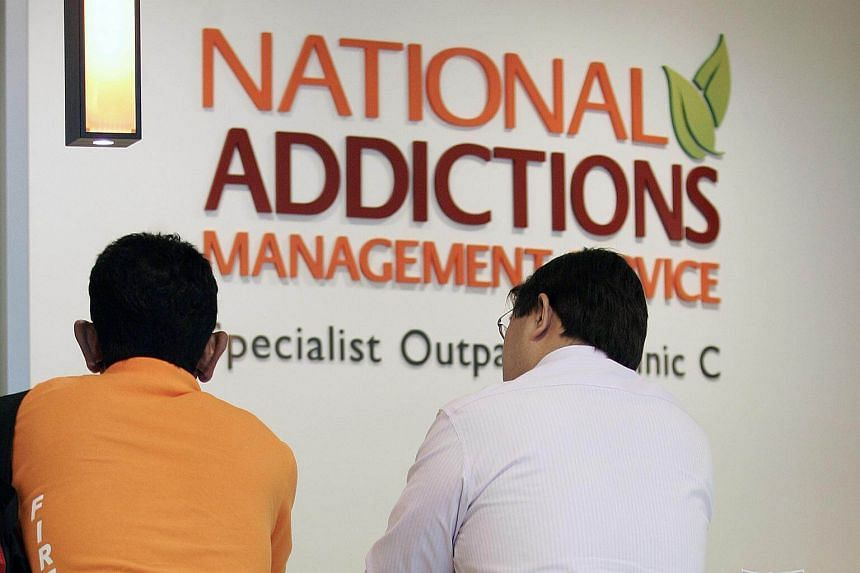 File photo showing the National Addictions Management Service clinic at the Institute of Mental Health.