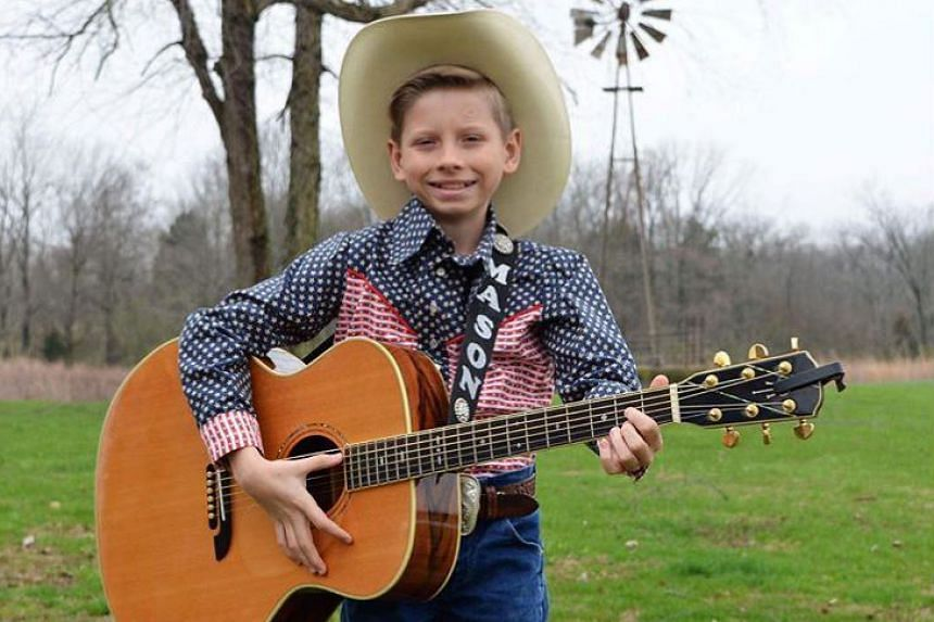 Mason Ramsey (above) shot to fame with a video of him singing at a Walmart store near his rural Midwestern town in the United States.