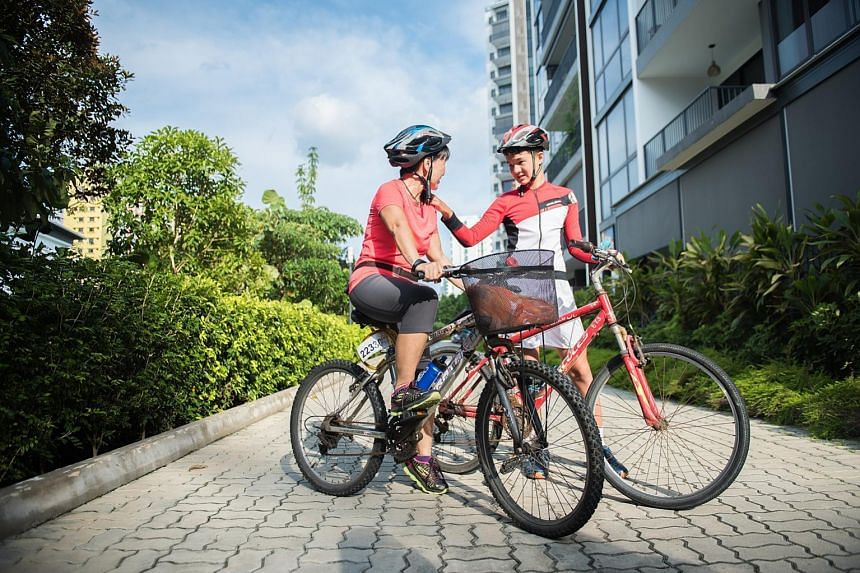 David Rudolph and his mother Clara Toh, who took part in the OCBC Cycle event last year, are looking forward to this year's edition. She says cycling makes David, who has autism, feel good about himself. The bank's cycling campaign now has a programm