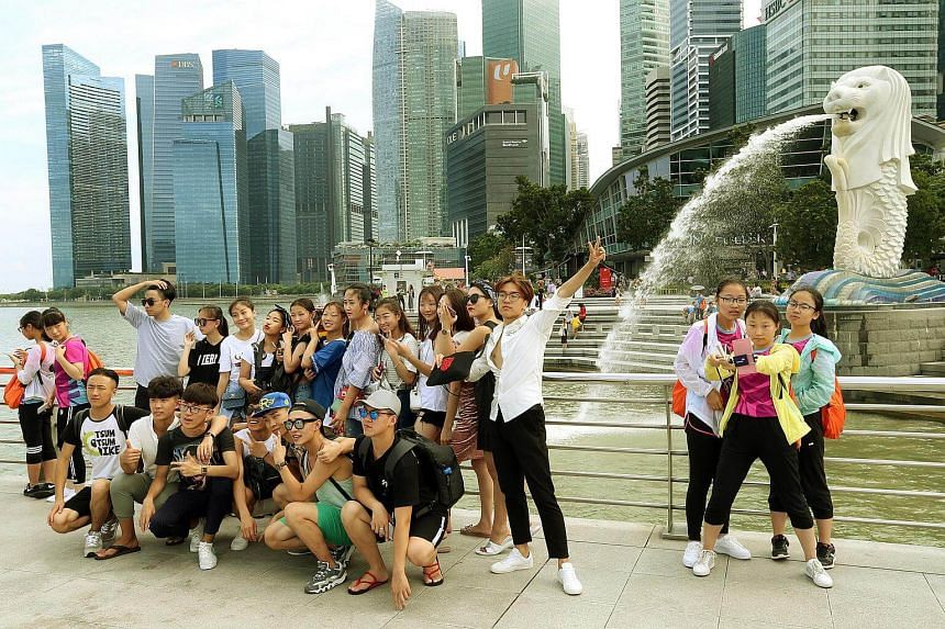 Singapore is one of the most popular overseas destinations for Chinese tourists.