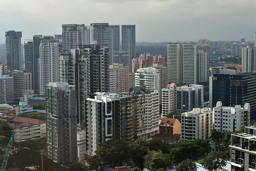 The price increase of completed private apartments and condos in Singapore rose from the 0.5 per cent rise seen in February, based on the revised index value for that month.
