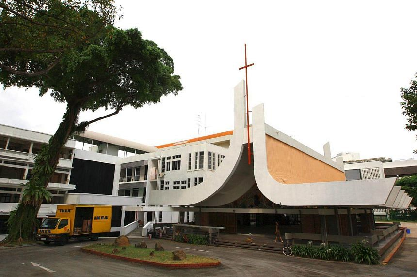 The old chapel was built in 1969 by the Trinity Theological College.