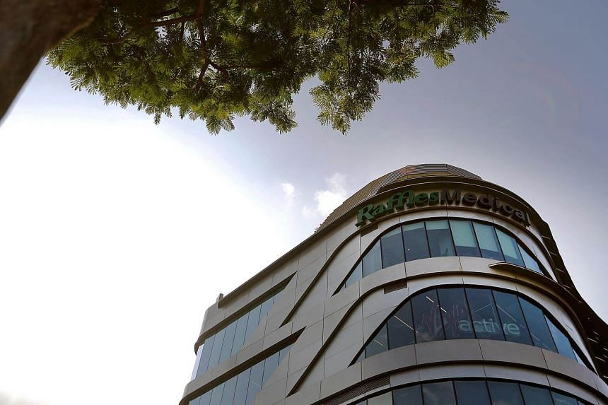 Raffles Medical Group's net profit grew for the first quarter of 2018.