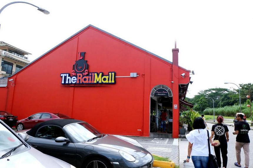 The Rail Mall comprises 43 single-storey shop units and 95 private carpark spaces. It has a total net lettable area of about 50,000 sq ft, and a 99-year lease starting from March 1947.